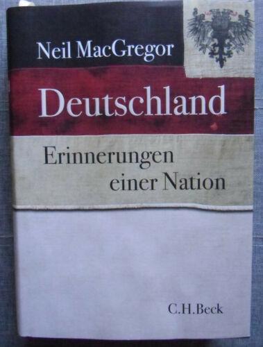 Deutschland Erinnerungen einer Nation Neil MacGregor Buch Deutsch 2017