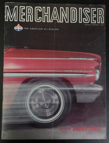 American Oil MERCHANDISER Magazine January-February 1962 AMOCO 120 Super Tire