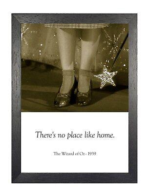 Wizard Of oz 3 Film Zitat Amerikanische Musical Fantasie Vintage Poster