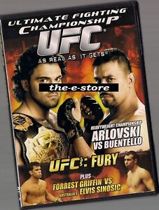 UFC - Ultimate Fighting Championship - DVD - 55 Fury.
