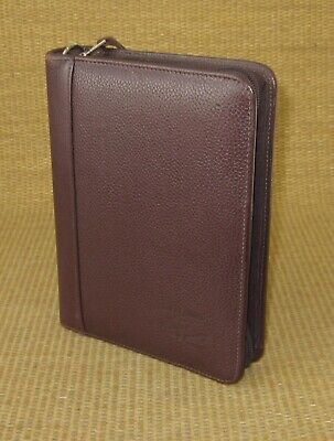 Compact 1 Rings Burgundy Leather Franklin Coveyquest Plannerbinder
