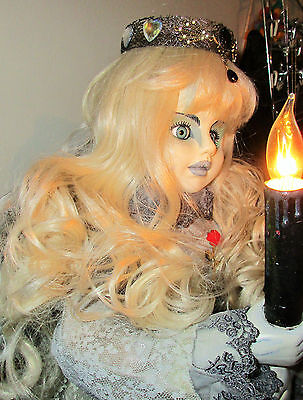 ANGEL OF DARKNESS DOLL OOAK Lighted remake horror Halloween Large 2 FT tall - Remake Of Halloween 2