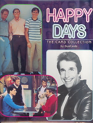 HAPPY DAYS 1998 DUO CARDS TRADING CARD ALBUM BINDER
