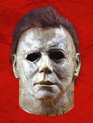 Michael Myers Maske Latex Voller Kopf Halloween Deluxe Erwachsene Größe Kostüm Deluxe Latex Maske