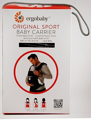 New in Original Box ERGO baby® Baby Carrier - Sport - Black
