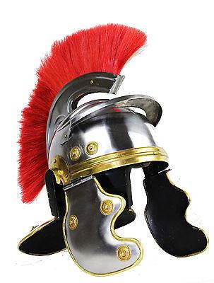 Centurio Parade Helm MIttelalter LARP Halloween Ritterhelm Lorica Legionär 1123
