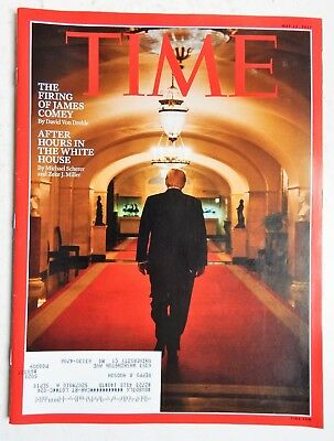 Donald Trump Time Magazine May 22 2017 The Firing of James Comey