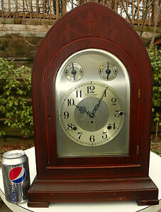 Antique Seth Thomas 8 Bell SONORA No.2003 BEEHIVE Clock c1915 CHIME Westminster