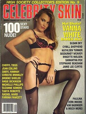 Vanna White Celebrity Sleuth Magazine 1988 Wheel Of Fortune Bares All