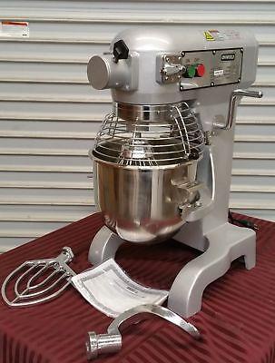 New 10 Qt Mixer Uniworld Upm-10e Nsf 2538 Cage Guard Bakery Dough Table Bakery