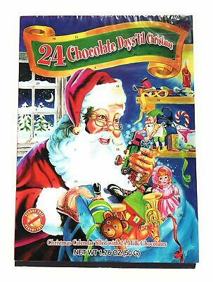 Alberts Advent Calender 24 Chocolates 1.76 oz Set of 3