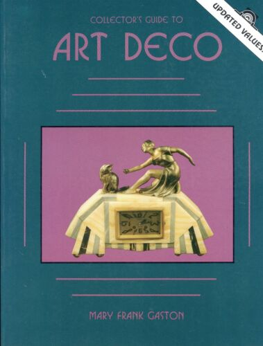 Art Deco Identification Illustrated Book - Statues Pottery Metal Jewelry +Values
