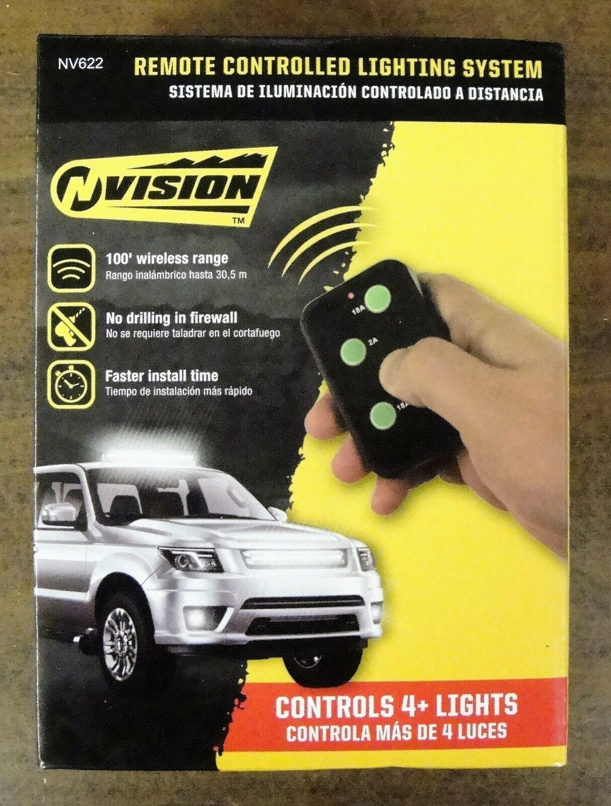 VISION REMOTE CONTROLLED LIGHTING SYSTEM  Brand New In The B