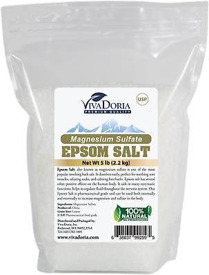 epsom salt magnesium sulfate usp