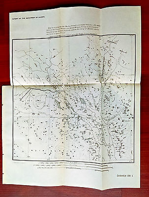 1899 Map of Provisional Boundary Line Canada and Territory of AK Lynn Canal