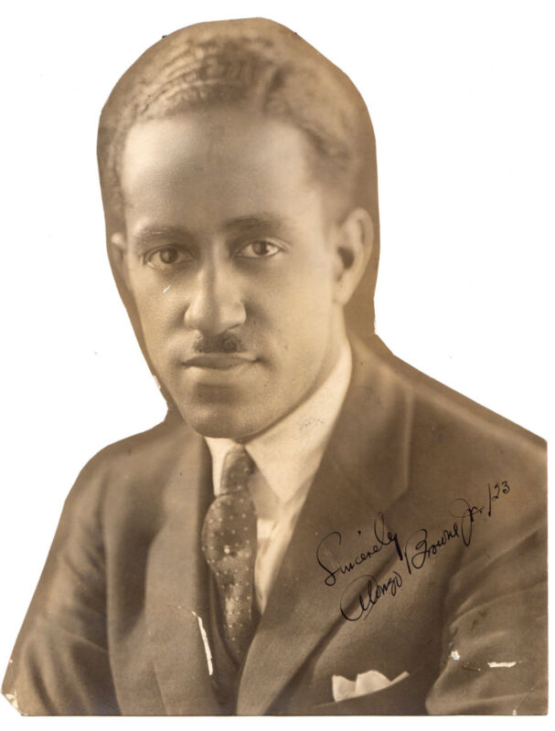 Original 1923 Signed & Inscribed Photograph  Actor Alonzo Browne Jr.
