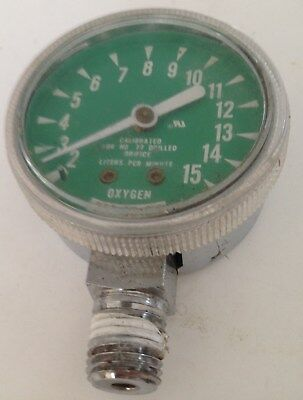 Gauge O2 2 Bottom Portthick Crystalcalibrated W Orifice 77 015 Lpmused