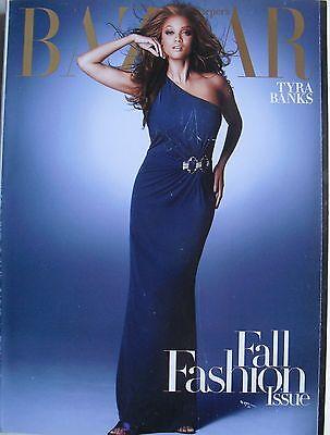 Tyra Banks September 2008 Harpers Bazaar Magazine Freja Beha   Angela Lindvall