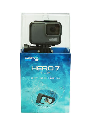 GoPro Hero 7 Silver 4K Waterproof 10PM Action Camera w/ Voice Control