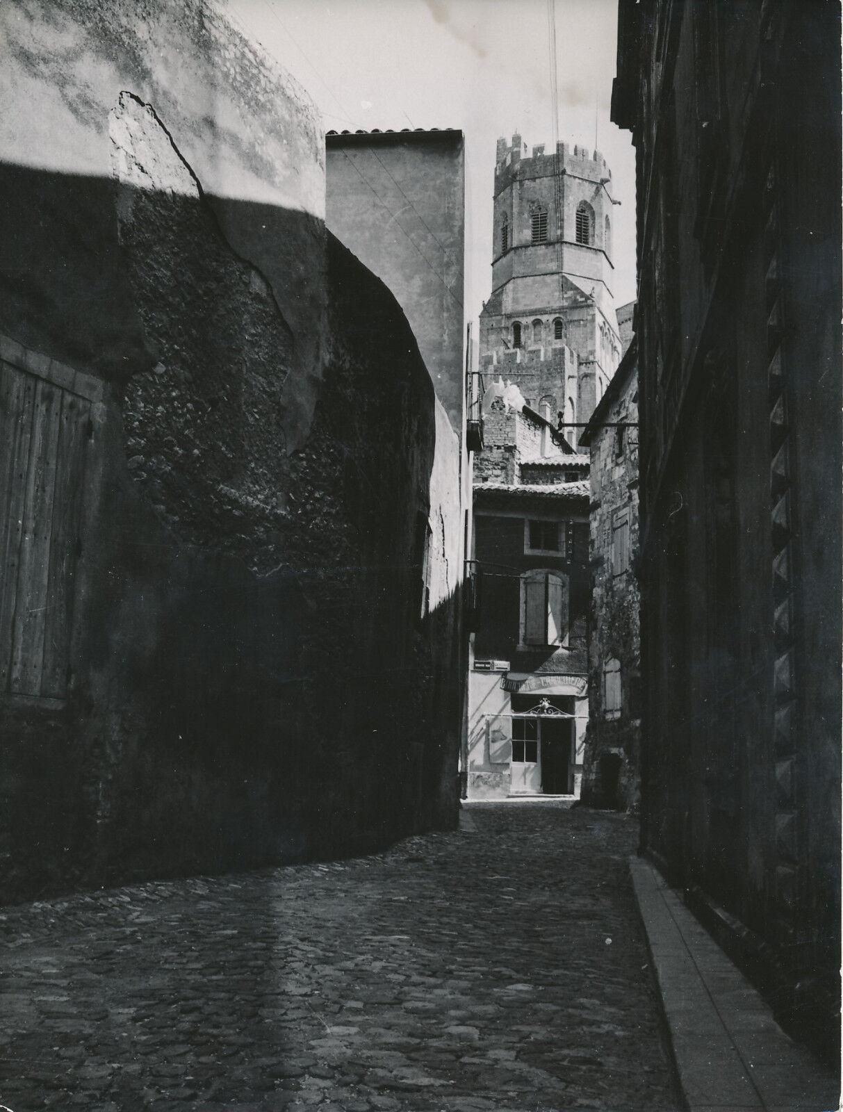 VIVIERS c. 1950 - Boucherie-Charcuterie Cathédrale St Vincent Ardèche - Div 7870