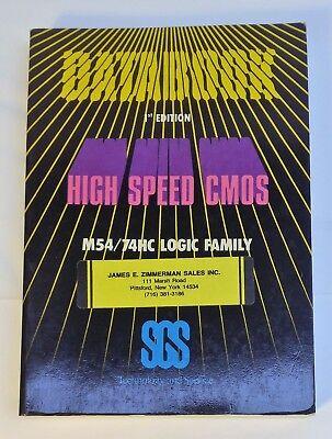 Руководство 1984 SGS High Speed CMOS