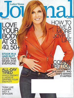 Ladies Home Journal Magazine September 2013 Connie Britton Love Your Body Life