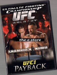UFC - Ultimate Fighting Championship - DVD - 48.