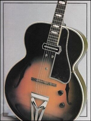 The 1940 Gibson ES-250 vintage guitar 1988 pin-up photo 8 x 11 print