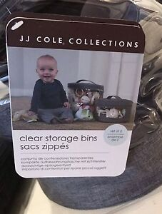 Brand new with tags JJ Cole Storage Bins