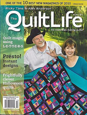 Quilt Life Magazine Letters Instant Designs Halloween Projects Hidden - Halloween Designed Letters