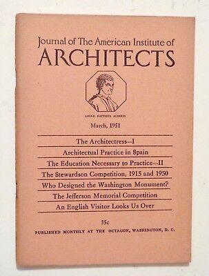 1951 Mar JOURNAL AMERICAN INSTITUTE of ARCHITECTS Stewardson