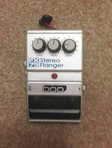 DOD Stereo Flanger FX75B Guitar Pedal - good cond. vintage Epping Ryde Area Preview