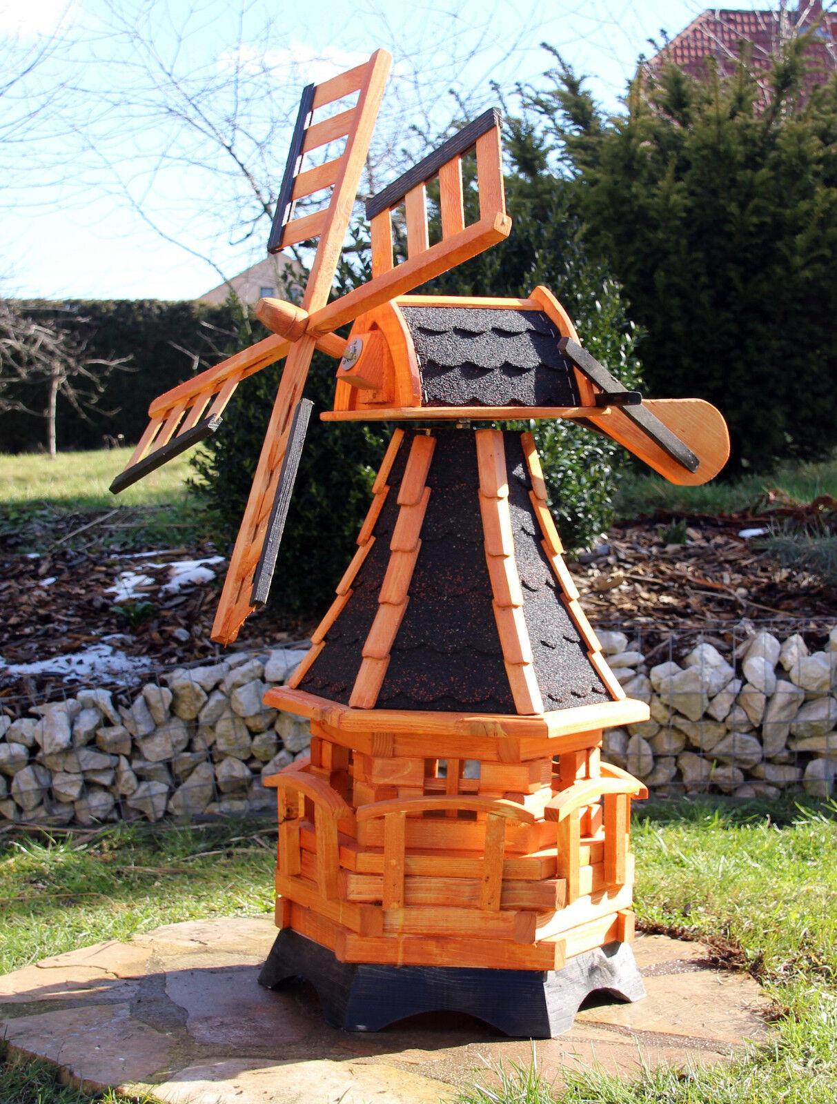 Windmühle, Windmühlen mit Solarbeleuchtung Typ 19