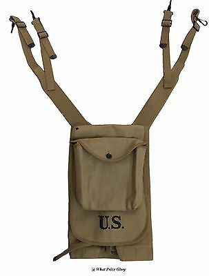 US M1910 HAVERSACK AND PACK CARRIER (1917 PRODUCTION)