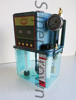 Yeong Dien Cnc Intermittent Lube Pump 2l Tank For Industrial Machines 110v Ce