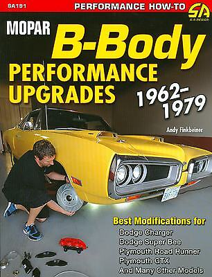 1968 69 70 71 Dodge Charger/road Runner-b-body Performance Upgrades-new