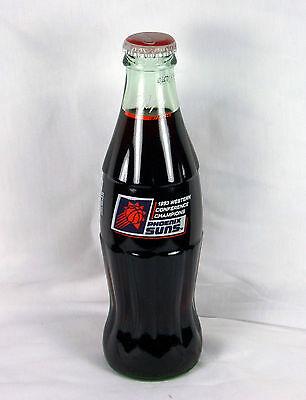 Coke Bottle Full  1993 Phoenix Suns Western Conference Champs Paul Westphal