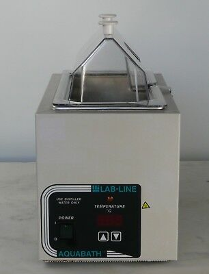 Lab-line Aquabath 18002 Heated Water Bath 5l 1.38 Gal. Incl Thermometer