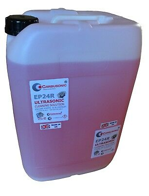 Ultrasonic Cleaning Fluid Carburettor Engine And Machine Parts 50 Lt