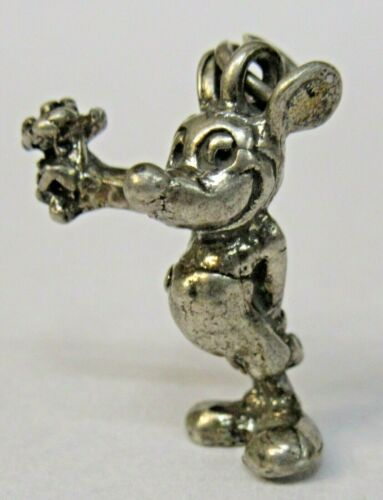 Disney MICKEY MOUSE Sterling Silver 1940