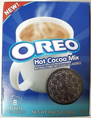 NEW 2017 OREO HOT COCOA MIX FRESH AND HOT ITEM FREE WORLDWIDE SHIPPING