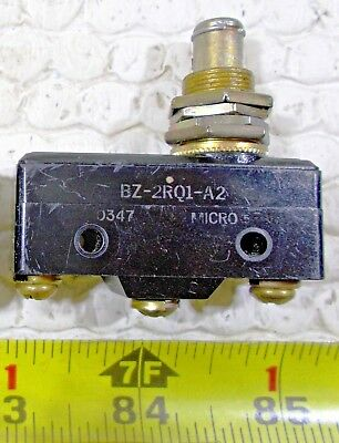 Honeywell Micro Switch Bz-2rq1-a2 Plunger Action Type Limit Switch