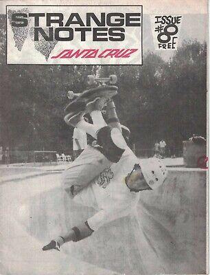 Steve Alba SKATEBOARD Magazine 1988 Thrasher Santa Cruz Strange Notes Ray Meyer
