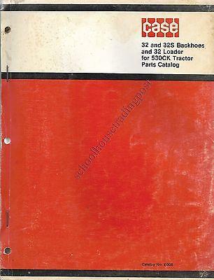 Original Case Parts Catalog No E908 3232s Backhoes32 Loader For 530ck Tractor