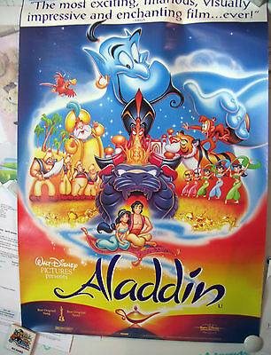 WALT DISNEY ALADDIN FILM MOVIE POSTER