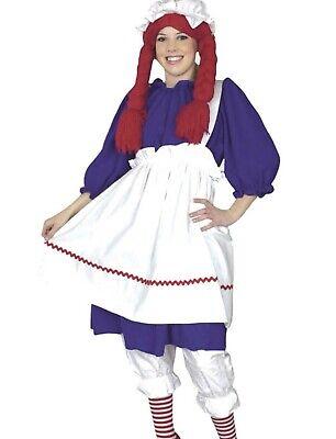 Rag Doll Costume Raggedy Ann - Plus Size 1X 18-22 - Raggedy Ann Doll Costume
