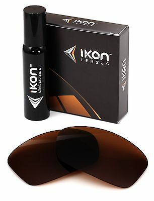 Polarized IKON Replacement Lenses For Dragon Vantage Sunglasses Bronze/Brown Vantage Replacement Lens