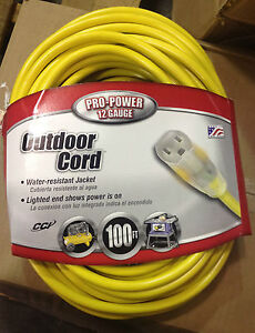 100 ft Extension cord reel