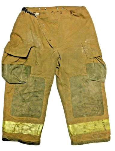 30x25 Small Globe Brown Firefighter Turnout Pants  P1300