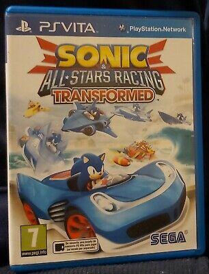 Juego sonic all stars racing transformers   para ps vita psvita for sale  Shipping to Nigeria